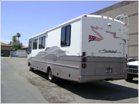 before/after - RV Paint and Repair  - Phoenix, Arizona